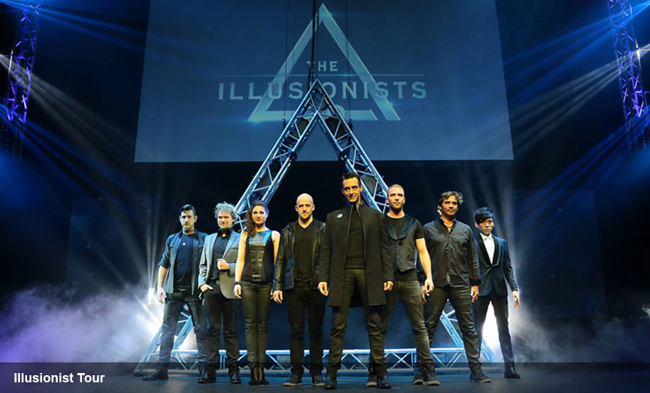 Entertainment Logistics Expertise - Illusionist Tour