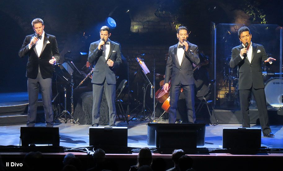 Entertainment Logistics Expertise - Il Divo