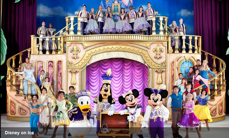 Entertainment Logistics Expertise - Disney on Ice